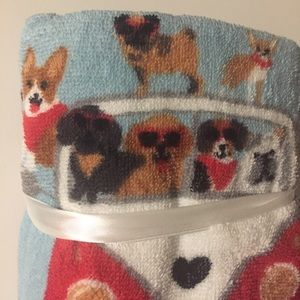 Other - NWT Cute Set o'2 Hand Towels Dogs VW Van Wagon Bus